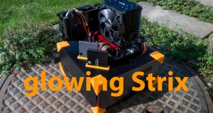 Glowing-Strix-custom-3D-Printed-PC-case