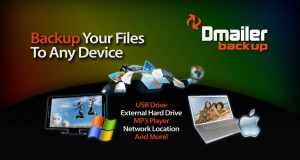 FREE Backup Software – PC and Mac – Dmailer Backup V3 with Online Storage (2GB Free!)