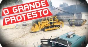 GTA-5-PC-Online-O-GRANDE-PROTESTO-DO-GTA-V