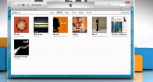 Backup and restore the iTunes® library on a Windows® 8.1 PC