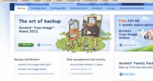 Best Backup Software | Acronis True Image Home 2012 And 2013 Backup Software Review