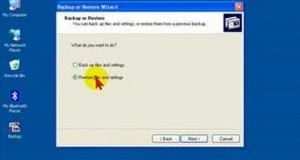 How to Restore Files & Folders to your PC from a Backup File