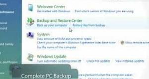 Microsoft Windows Vista Business Tips – PC Backup + Restore