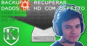 Renovando seu PC: Backup e recuperando dados de um HD com defeito